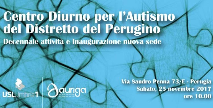 Inaugurazione nuova sede Centro Diurno per l'Autismo Perugia