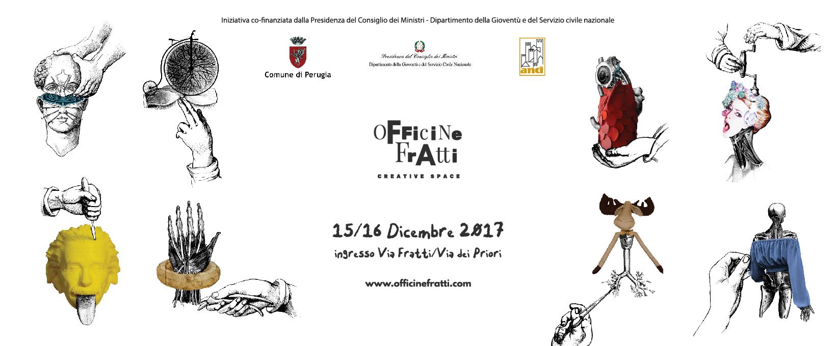 """Inaugurazione """"Officine Fratti Creative Space"""""""