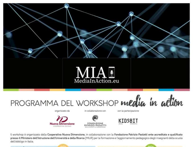 "Nuova Dimensione presenta il workshop ""Media in Action"""