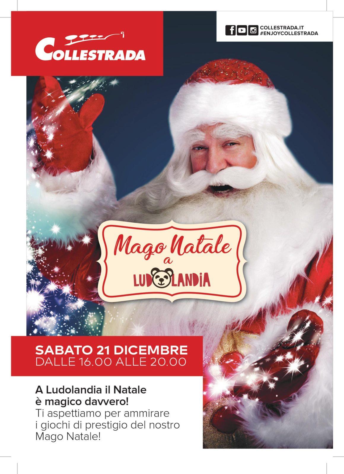 21 dicembre 2019 – Mago Natale a Ludolandia !!!